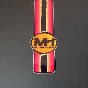 Mudhugger Long Adesivi 5 Pezzi, rosso